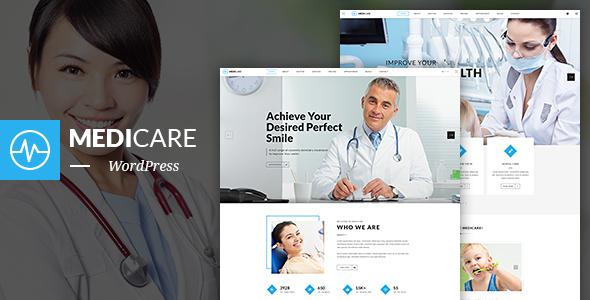 MediCare – Dentist, Health WordPress Theme