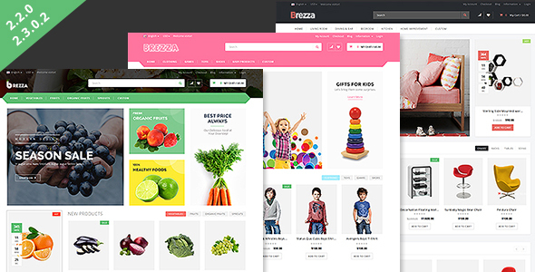 Brezza - Responsive OpenCart Theme