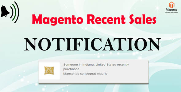 Magento Sales Notification - Boost Your Sales