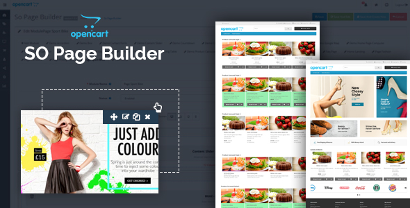 SO Page Builder -  The OpenCart Page Builder Module