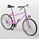 City Bike Lowpoly