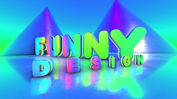 VideoHive 3D Disco Titles 17646014