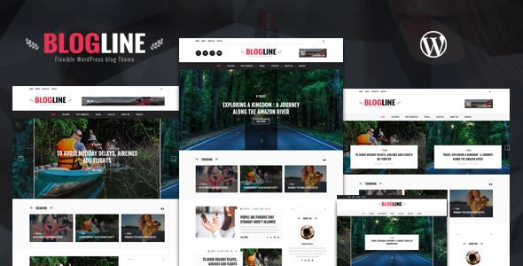 Download Blogline - Responsive WordPress Blog Theme nulled download