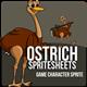 Game Asset : Ostrich
