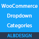 Woocommerce categories dropdown