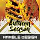 Autumn Season Flyer/Poster