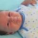 Newborn Crying Baby Boy