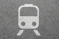 Train metro rail mobility traveling road traffic