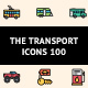The Transport Icons 100