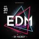 EDM DJ Flyer