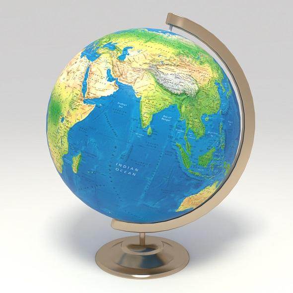 globe - 3DOcean Item for Sale