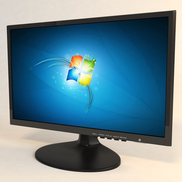 computer monitor - 3DOcean Item for Sale