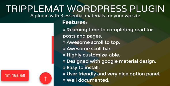 Tripplemat WordPress Plugin