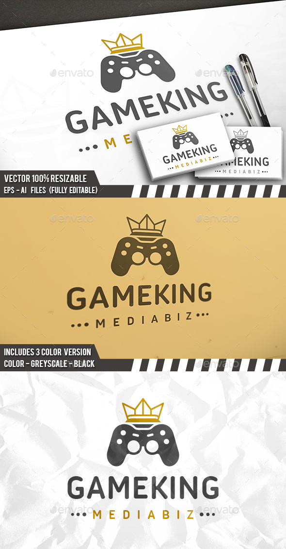 Gaming King Logo