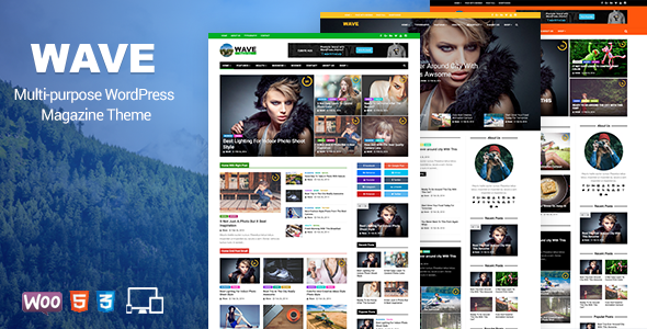 Wave  - Multi-purpose WordPress Magazine Theme
