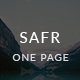 Safr - Travel and Booking PSD Template