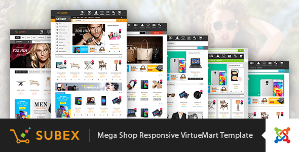 Image of Vina Subex - Mega Shop Responsive VirtueMart Template