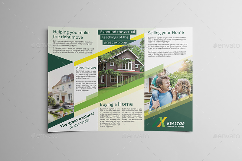 realtor tri fold brochure template by wutip2 graphicriver