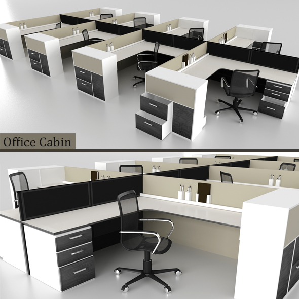 Office Cabin - 3DOcean Item for Sale