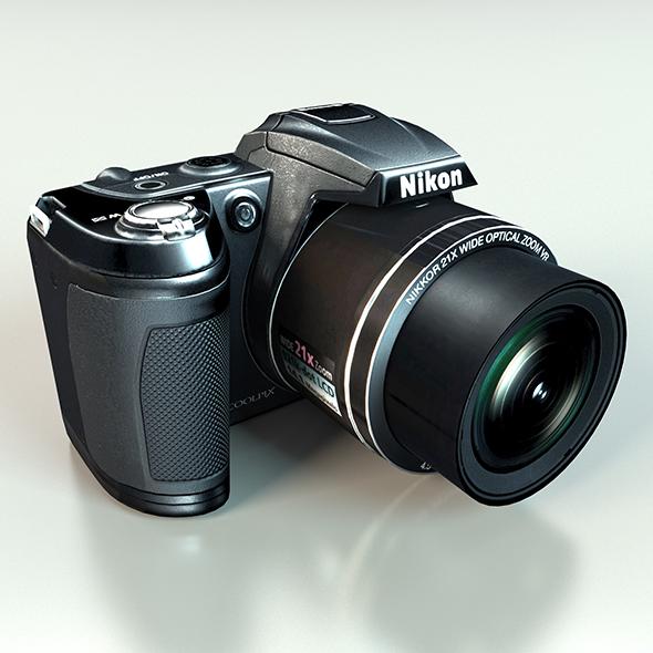 Nikon CoolPix L 120 - 3DOcean Item for Sale