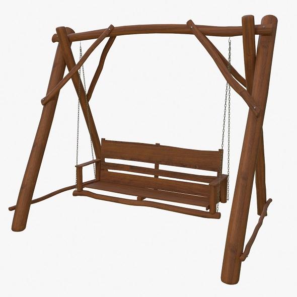 garden swings - 3DOcean Item for Sale