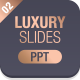Business Luxury Powerpoint Template 002