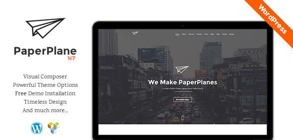 PaperPlane - Creative Business Portfolio