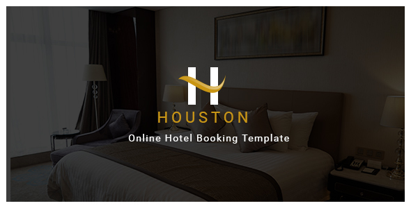 Houston - Online Hotel Booking Template