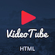 VideoTube - Responsive Mobile Template