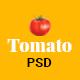 Tomato- Restaurant PSD Template