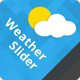 WeatherSlider Premium jQuery Weather Widget