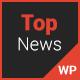Top News – News/Magazine WordPress Theme (News / Editorial) Download