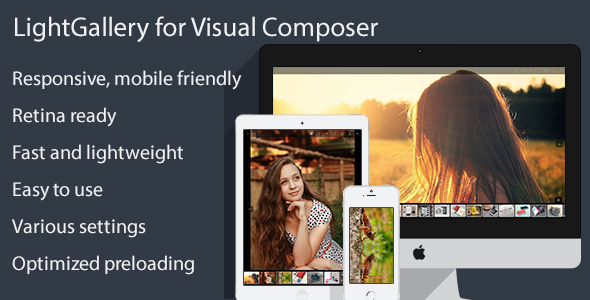 LightGallery for Visual Composer