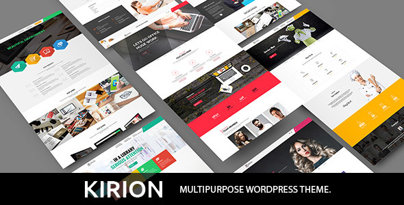 Kirion – Multipurpose WordPress Theme (Business) Download
