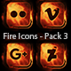 Fire Icons - Pack 3