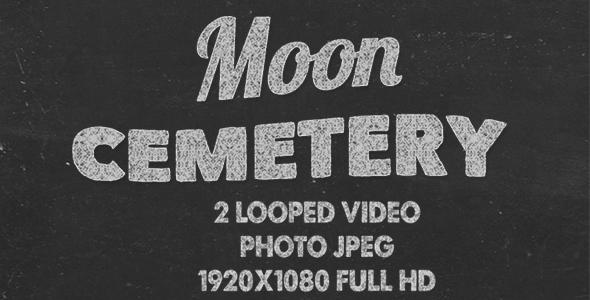 VideoHive Moon Cemetery 17685009