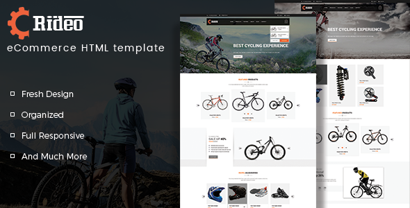 Rideo - eCommerce HTML Template