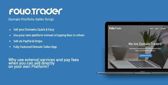 Download FolioTrader - Domain Portfolio Seller Script nulled download