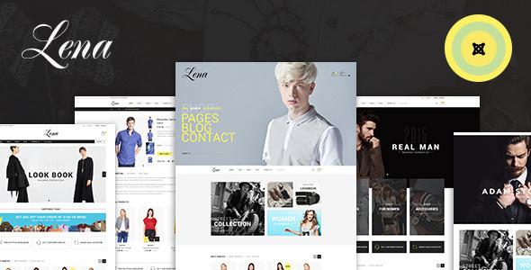 Lena - Shop Joomla Virtuemart Template