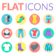 Fashion, Clothes and Accessories Icons