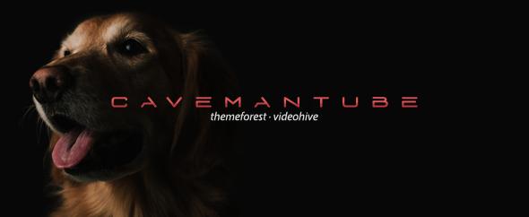 Cavemantube-homepage