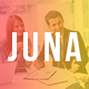 JUNA - Clean PSD Template