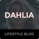 Dahlia - Feminine WordPress Magazine/Blogging Theme