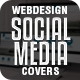Web Design Social Media Covers Package