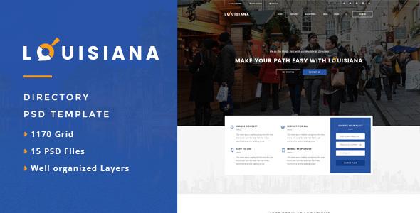 Download Louisiana - Responsive Directory WordPress Theme