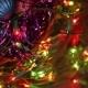 Christmas Balls And Garland Flashing Tangled