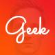 Geek - Personal Resume & Portfolio Template