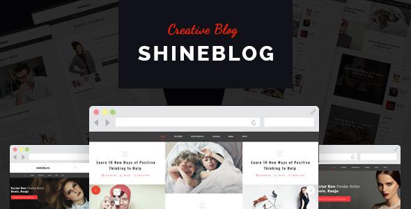 ShineBlog - Blog & e-Commerce Template