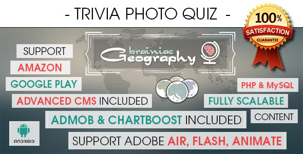 Photo Trivia Quiz With CMS - Android