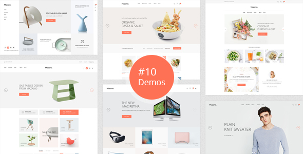 Download Mazano - Trendy Responsive WordPress Theme nulled download